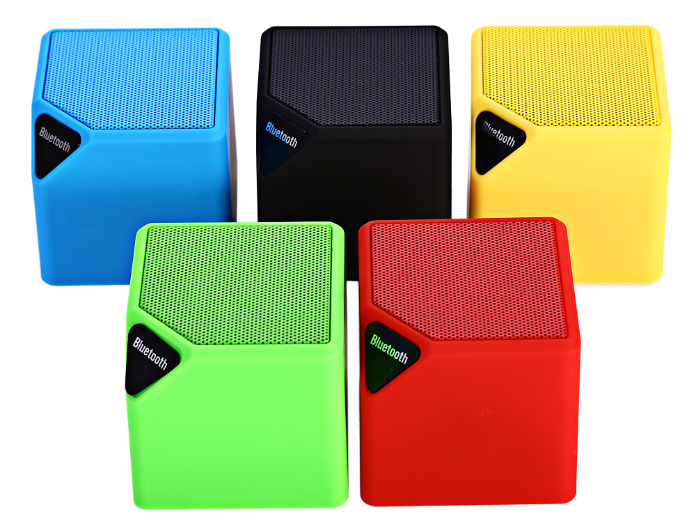 MiniX3 Mini Bluetooth 4.0 Speakers Wireless Audio Player Built-in Lithium Battery Support Hands-free Phone Call