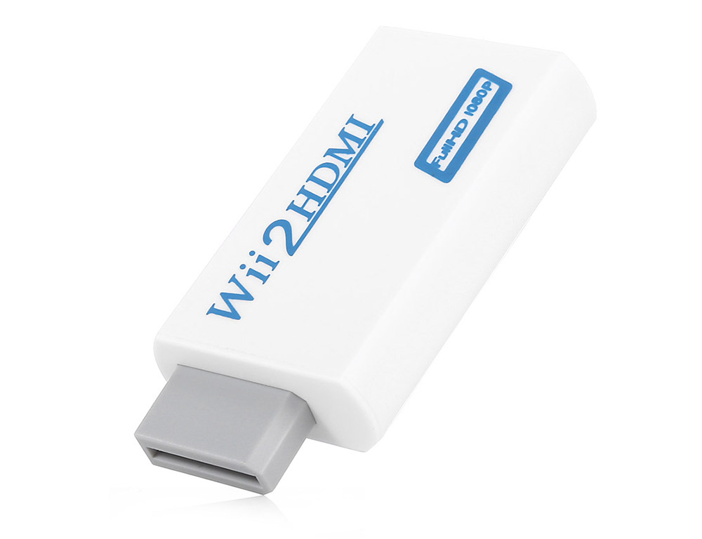 HDMI Converter Adapter for Nintendo Wii