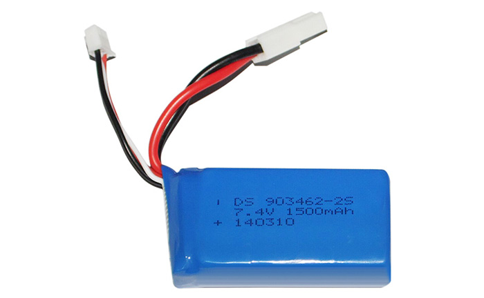 Feilun FT009 Remote Boat Spare Parts 7.4V 1500mAh Battery FT009 - 15