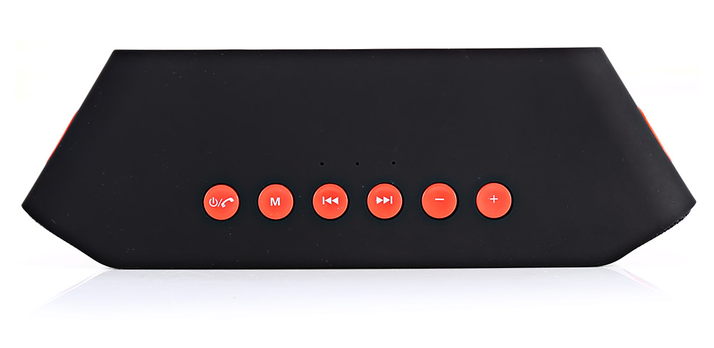 S204 Bluetooth V3.0 + EDR Speaker Wireless Audio Speakers Built-in Lithium Battery with USB Port / 3.5mm Audio Output