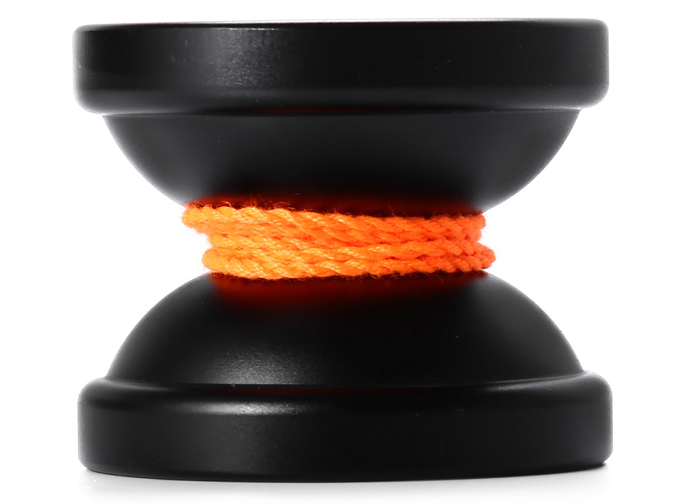 DECAKER Classic Alloy Yoyo Ball Black Pegasus Ice and Fire Toy Gift for Children