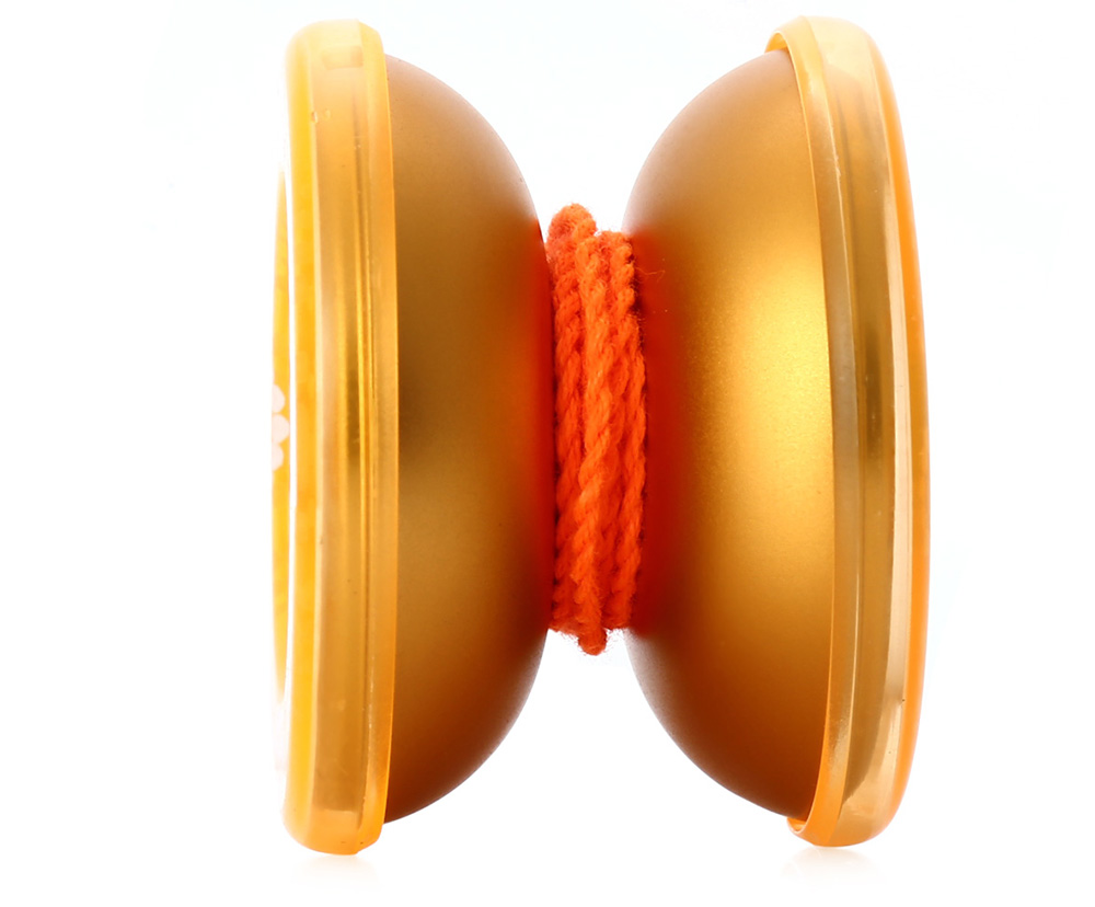 DECAKER Classic Alloy Yoyo Ball Golden Photon Toy Gift for Children