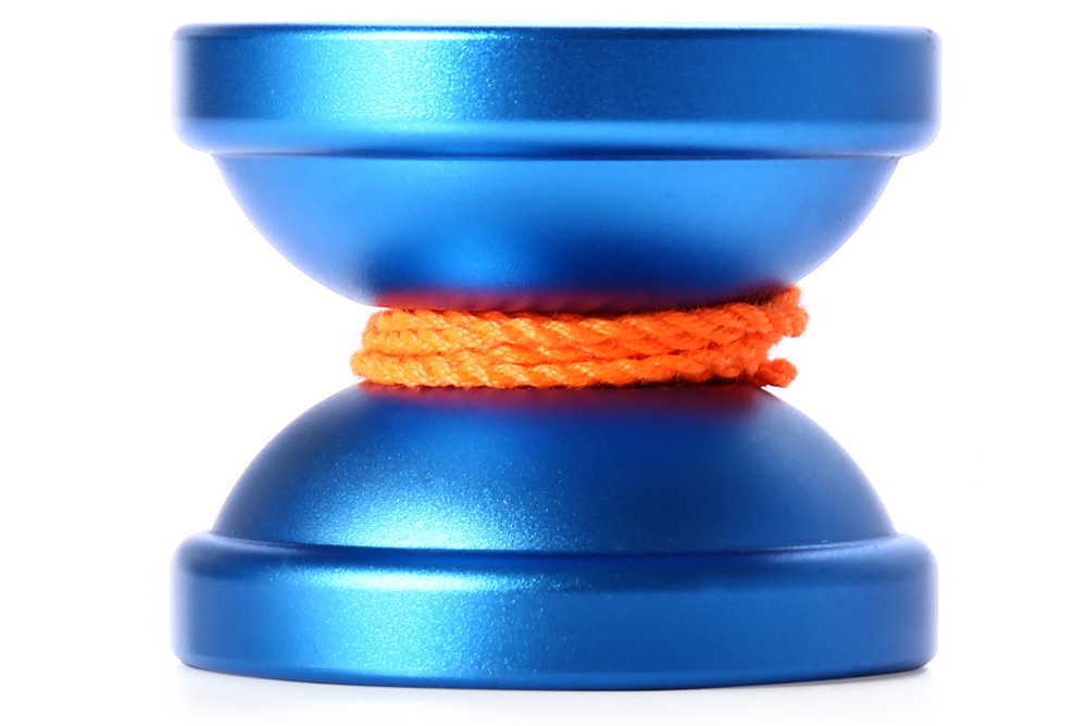 DECAKER Classic Alloy Yoyo Ball Blue Pegasus Toy Gift for Children