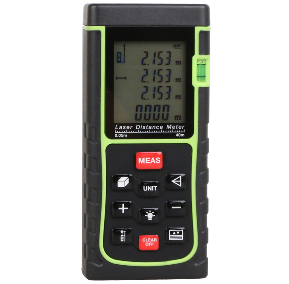RZE40 40m Automatic Laser Distance Meter 2nd Generation Measuring Tool