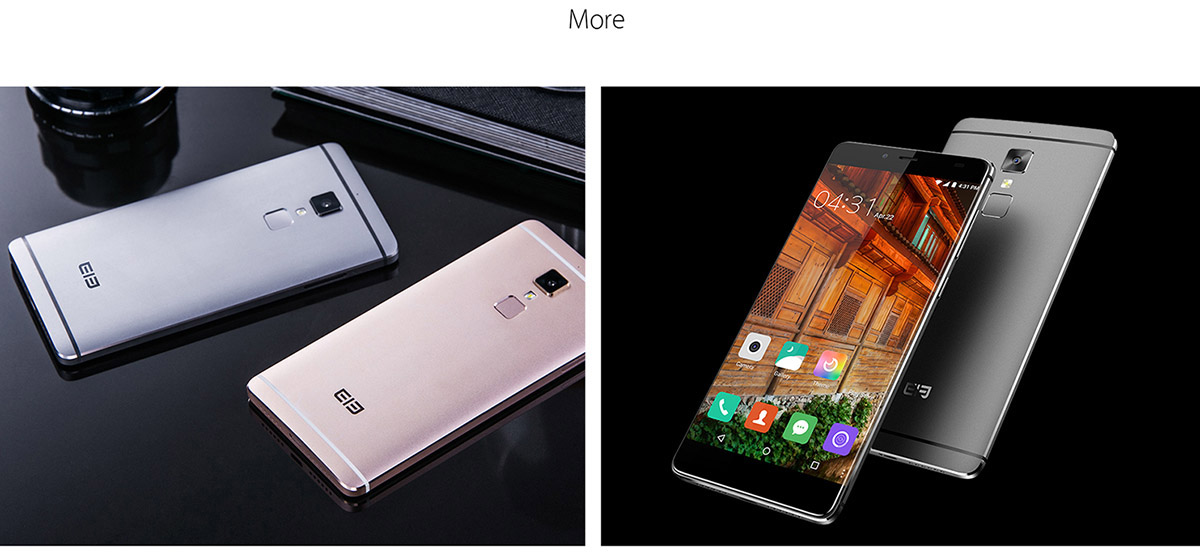 Elephone S3 Android 6.0 4G Smartphone 5.2 inch Bezel-less 2.5D Arc FHD Incell Screen MTK6753 64bit 1.3GHz Octa Core 3GB RAM 16GB ROM 13.0MP + 5.0MP Cameras Fingerprint Sensor