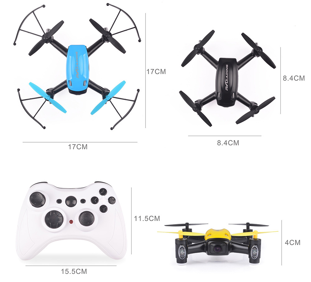 RC LEADING MODEL RC111F 5.8G / WiFi FPV 720P Air Press Altitude Hold 2.4G 4CH Mini RC Quadcopter