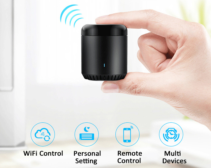 Broadlink Universal WIFI + IR Remote Controller Timing Function for Home Electric Appliances