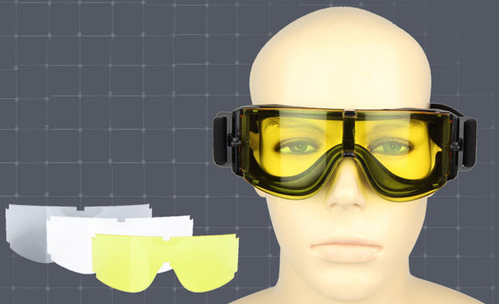 FREE SOLDIER X88 Bullet-proof Safety Goggles Tactical Glasses