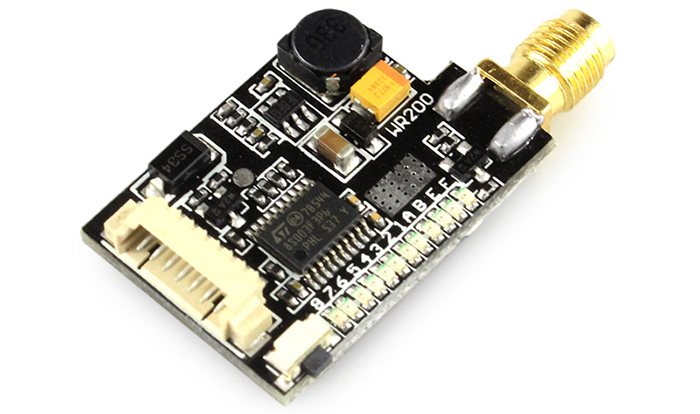 CMOS 700TVL HD 148 Degree Wide Angle Camera + 5.8G 32CH 200mW Transmitter Set Accessory for Fixed-wing Plane QAV250 280 FPV RC Drone