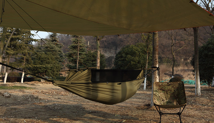 Free Soldier Multifunctional Camping Tent Hammock 39 77