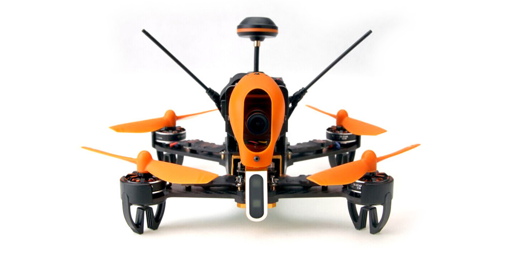 Walkera F210 - 3D 5.8G FPV 700TVL HD Camera 7 Channel 2.4G Quadcopter with Upgraded OSD