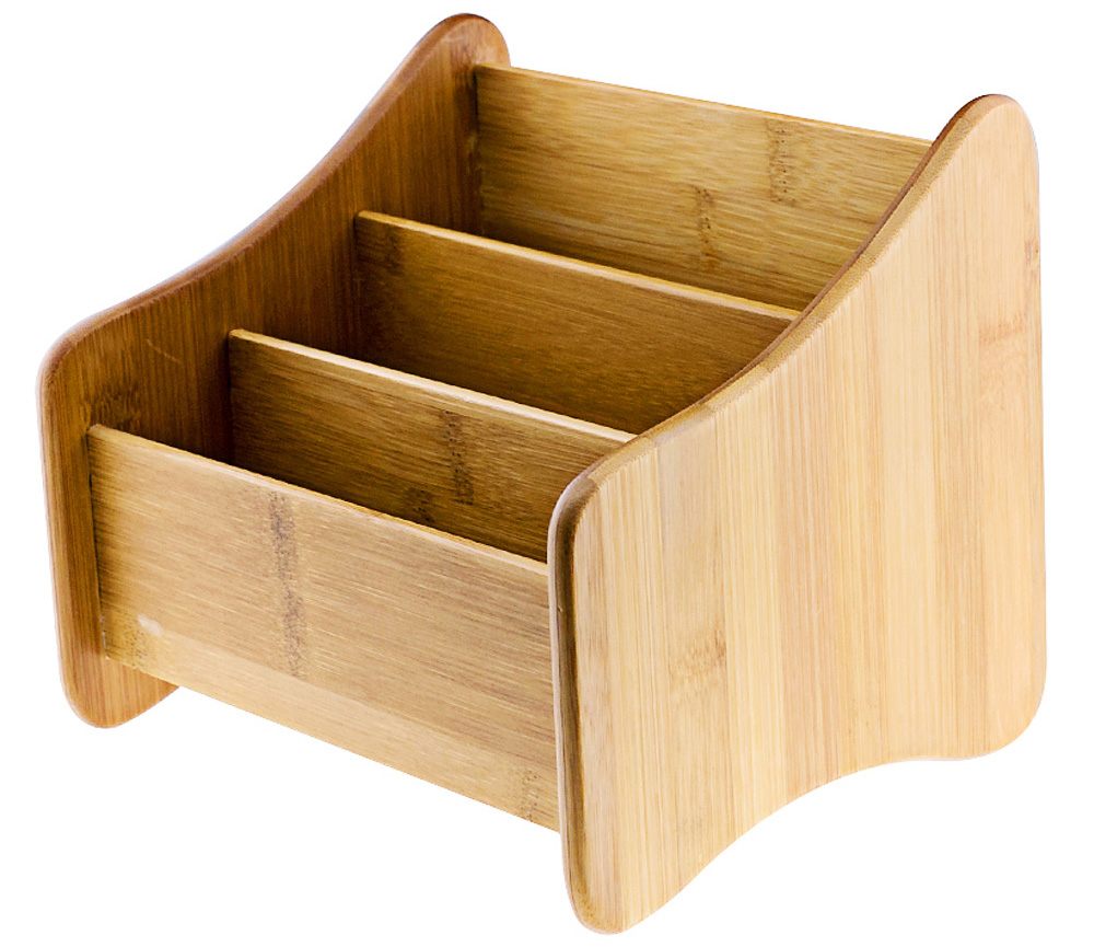 Multi-functional Bamboo Storage Box Decorative Gadgets Container Home Art Craft