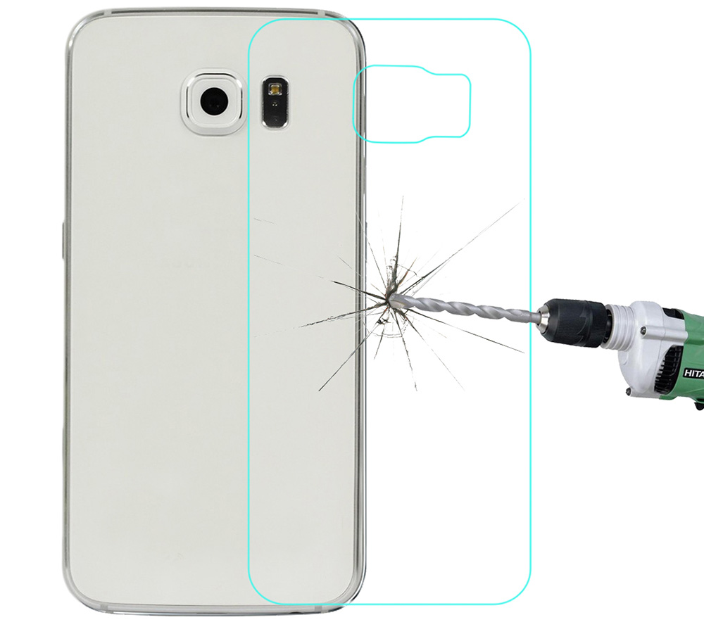 Angibabe 0.3mm Tempered Glass Back Protective Film for Samsung Galaxy S6 G920 9H Ultra Thin Phone Protector