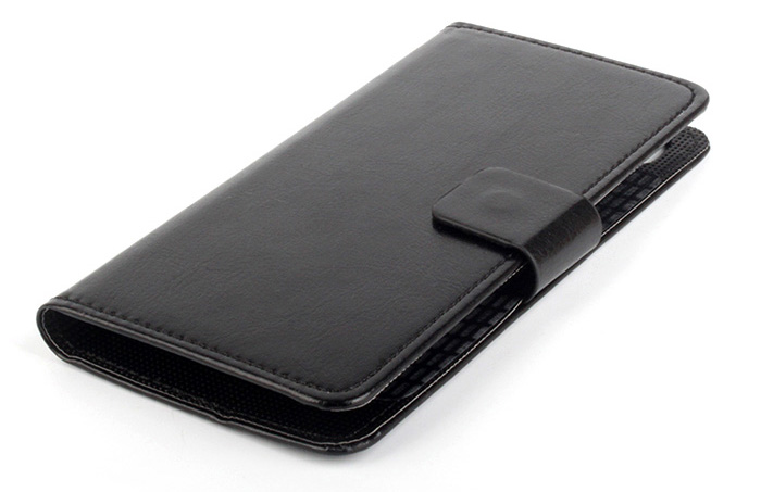 Practical PU Leather Full Cover Protective Case with Card Holder for Elephone M3