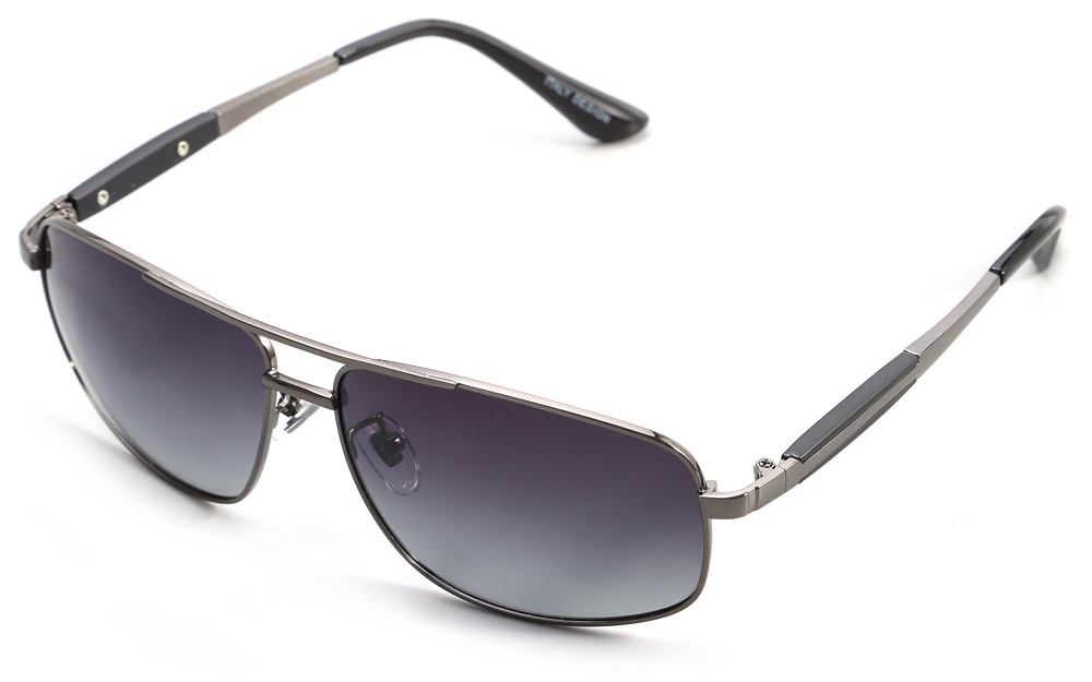YiKang Y9347 Male Ombre Color Polarized Sunglasses with TAC Coating