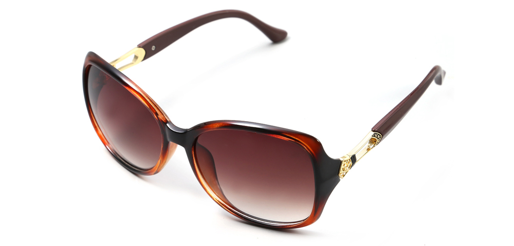 HongChang 2502 - 2 Female UV-resistant Sunglasses with TR Frame