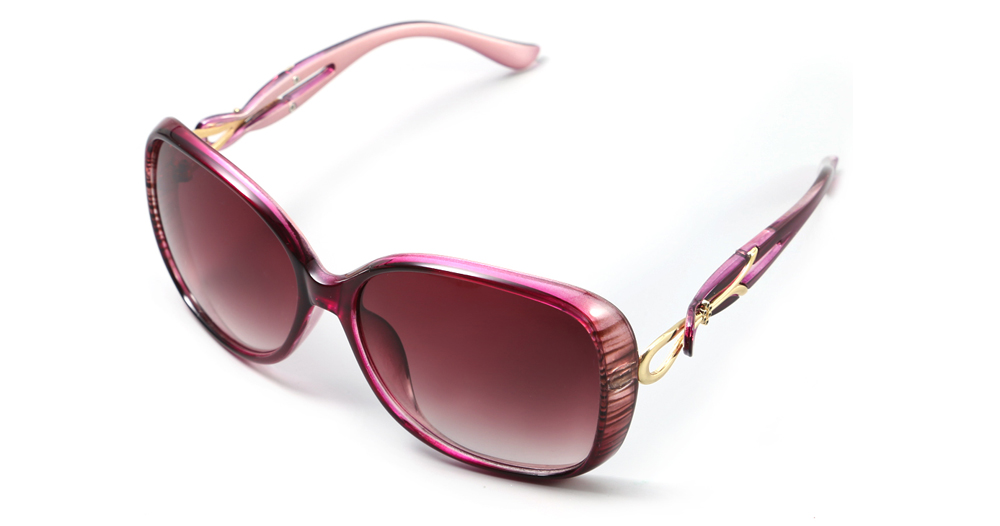 HongChang 2511 - 6 Female UV-resistant Sunglasses with TR Frame