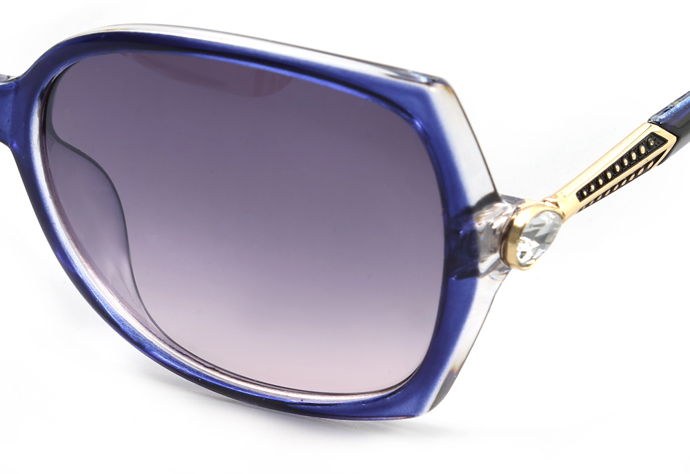HongChang 2507 - 7 Female UV-resistant Sunglasses with TR Frame
