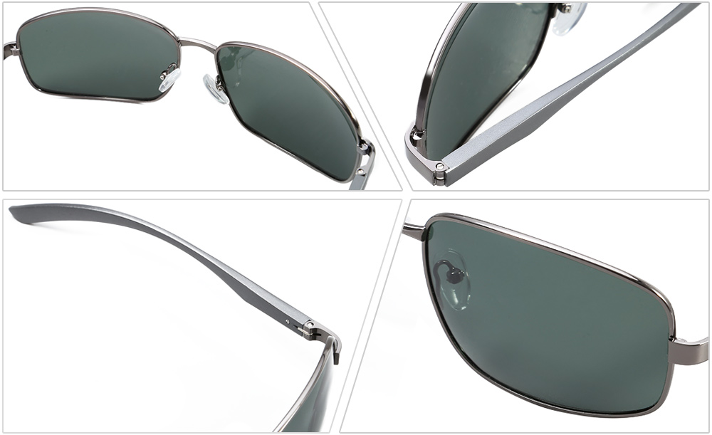 NANKA 8716 Male Polarized Sunglasses with TAC Coating