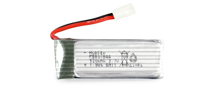 RC Quadcopter 3.7V 520mAh 25C Battery Accessory for Hubsan H107P