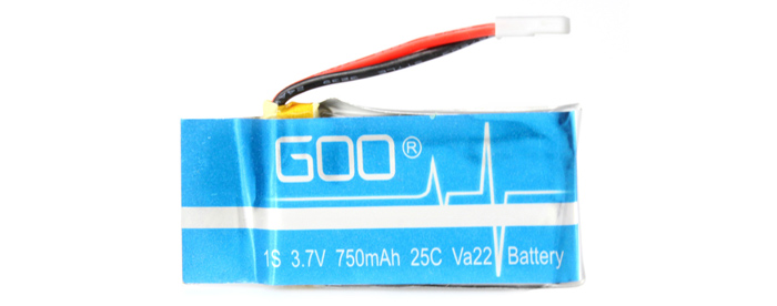 2Pcs RC Quadcopter 3.7V 750mAh Battery Accessory for Cheerson CX - 30