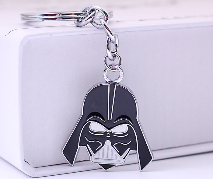 Key Chain Hanging Pendant Warrior Shape Keyring Movie Product for Bag Decoration
