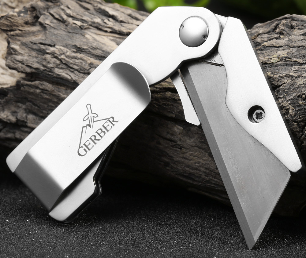 EDCGEAR Multi-functional Liner Lock Paper Knife with Pocket Clip