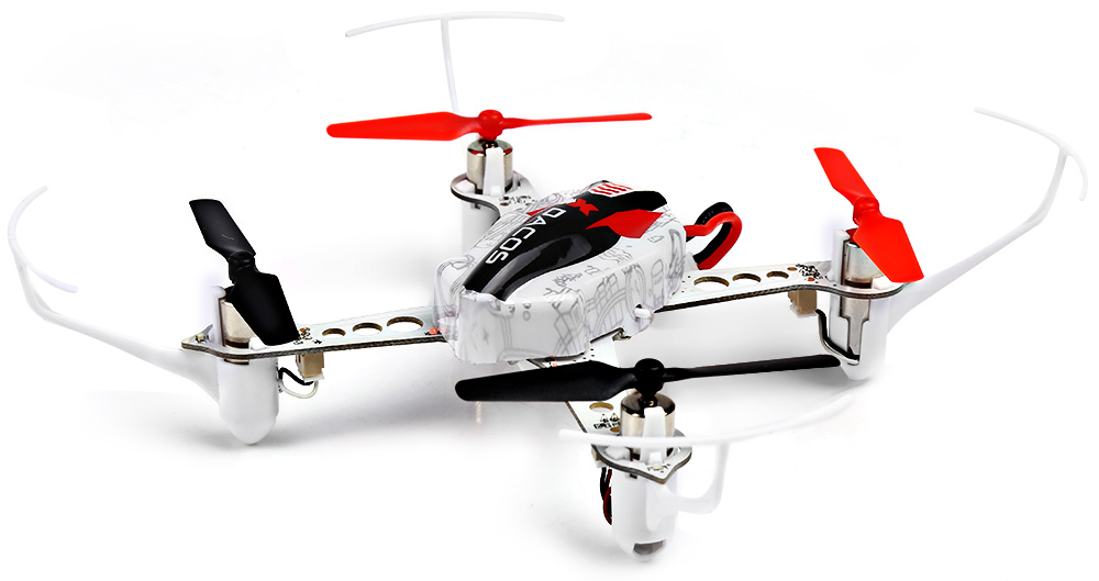 XK X100 2.4GHz 6 Channel 6 Axis Gyro Quadcopter Support FUTABA S - FHSS Control RTF