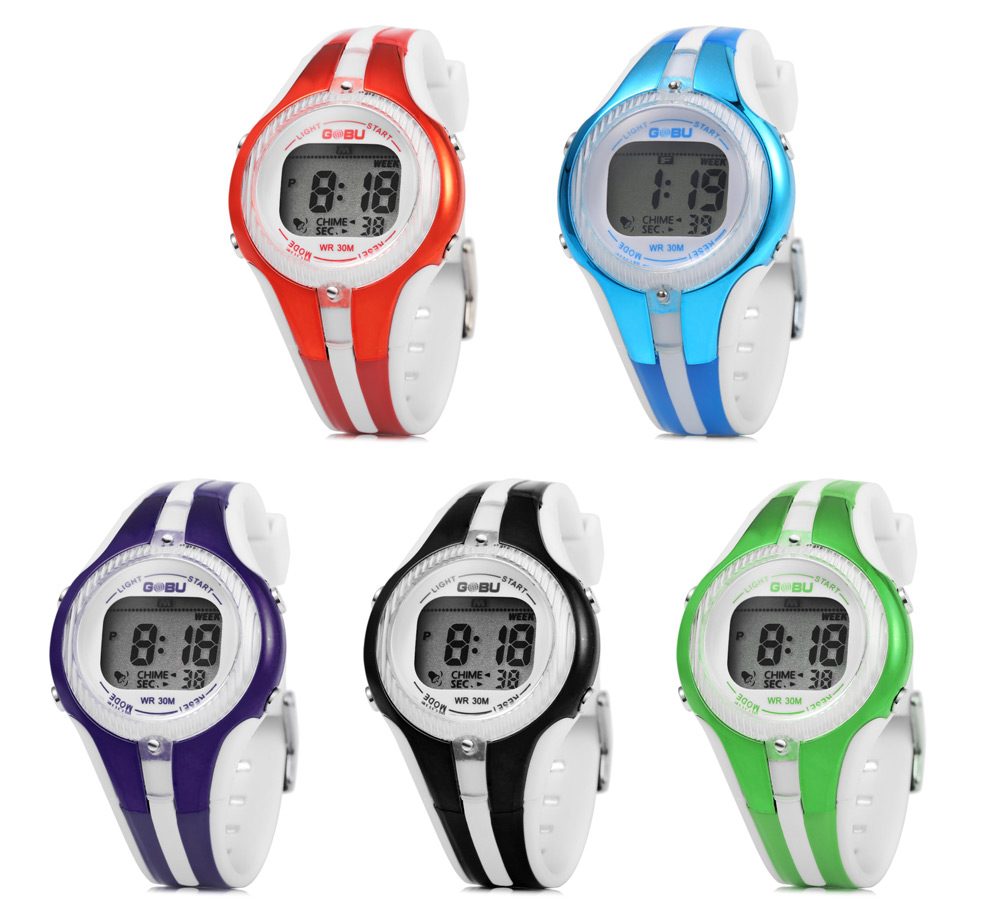 GOBU 1613 Children Watch with LED Backlight
