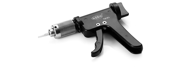 GOSO Quick Gun Turning Tool for Pin Tumbler / Slotted / Cross / Auto Lock