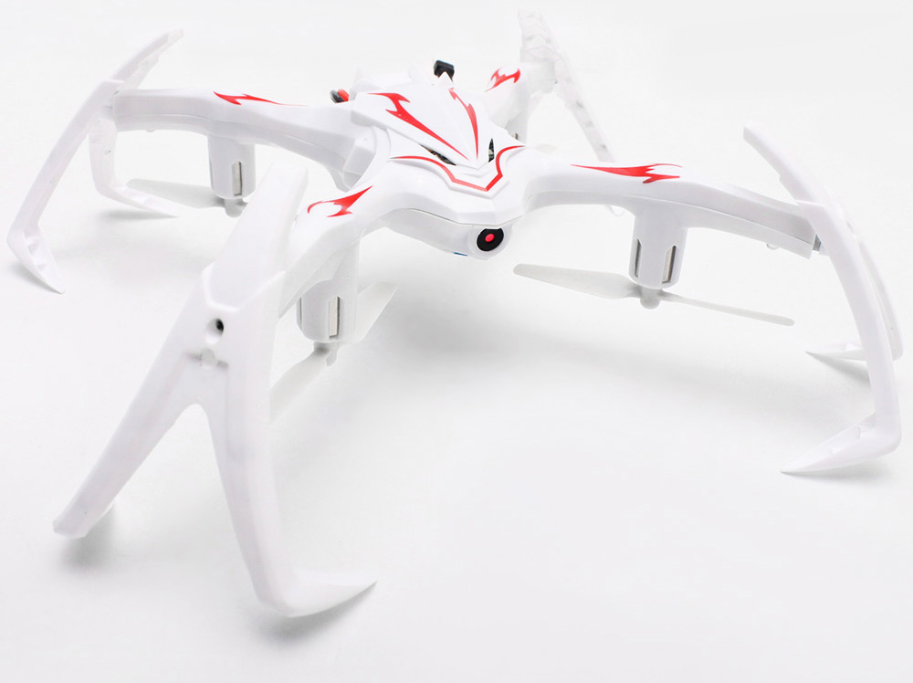 HUAXIANG 8971V 2.4GHz 6CH 2-mega-pixel CAM 6 Axis Gyro Inverted Quadcopter RTF