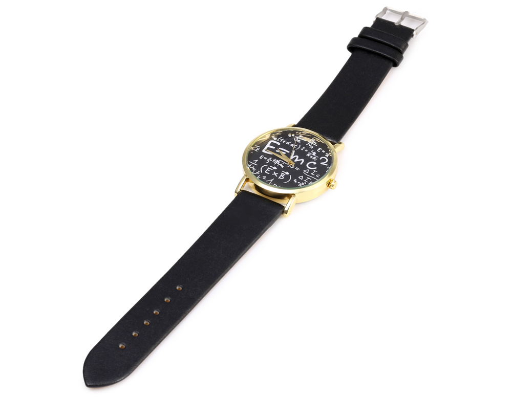 460 Casual Style Leather Band Female Quartz Watch