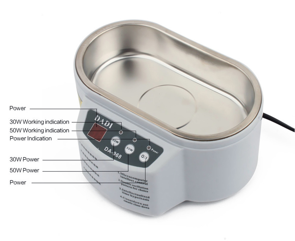 DADI Ultrasonic Cleaning Machine for Washing Glasses / Accessories