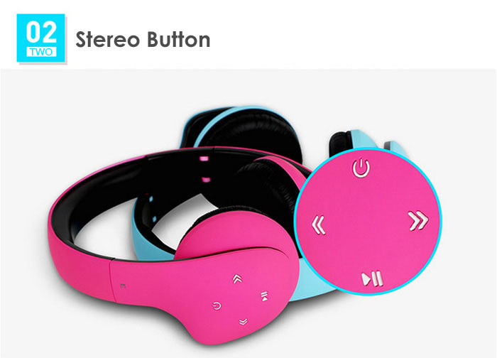 VEVA S220 Bluetooth Music Headphones Super Bass with Microphone Support Hands-free Calls