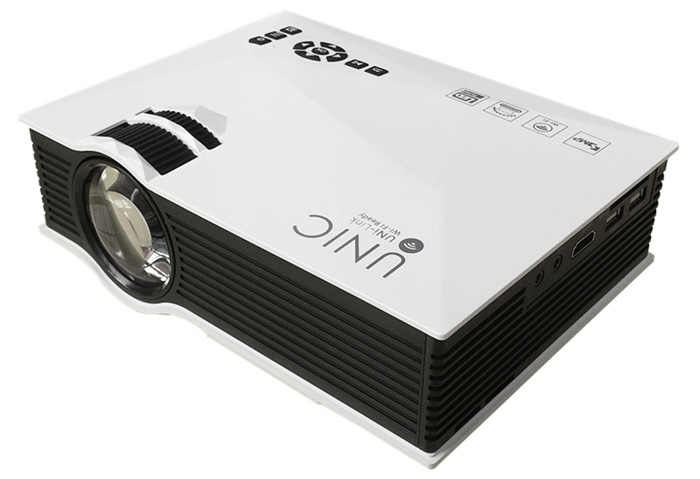 UNIC UC46 Mini WiFi Portátil Proyector LED con Miracast DLNA Airplay