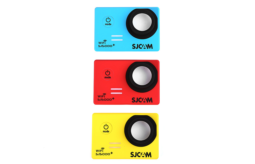 Original SJCAM 3PCS Backup Interchangeable Faceplate Replacement Skin Front Cover Shell for SJ5000 Plus Action Sport Cameras