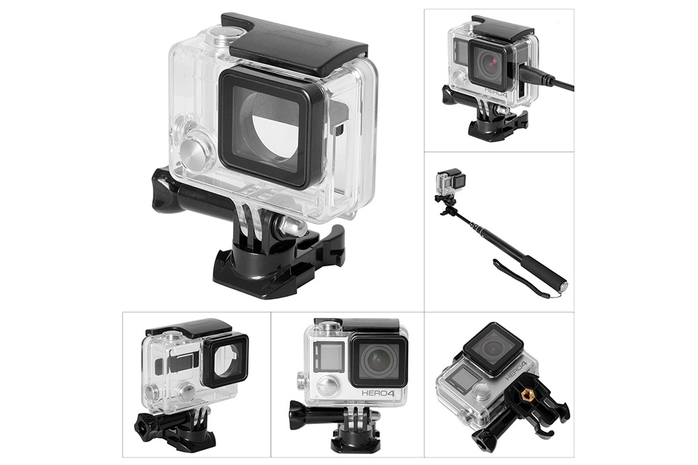 Fantaseal H - 4B1 Advanced Opening Protective Housing Case for GoPro Hero 4