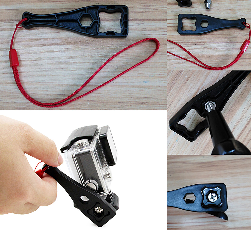 Fantaseal K - C45B 8 in 1 Protective Housing Case Accessory with Side Opening for GoPro Hero 4