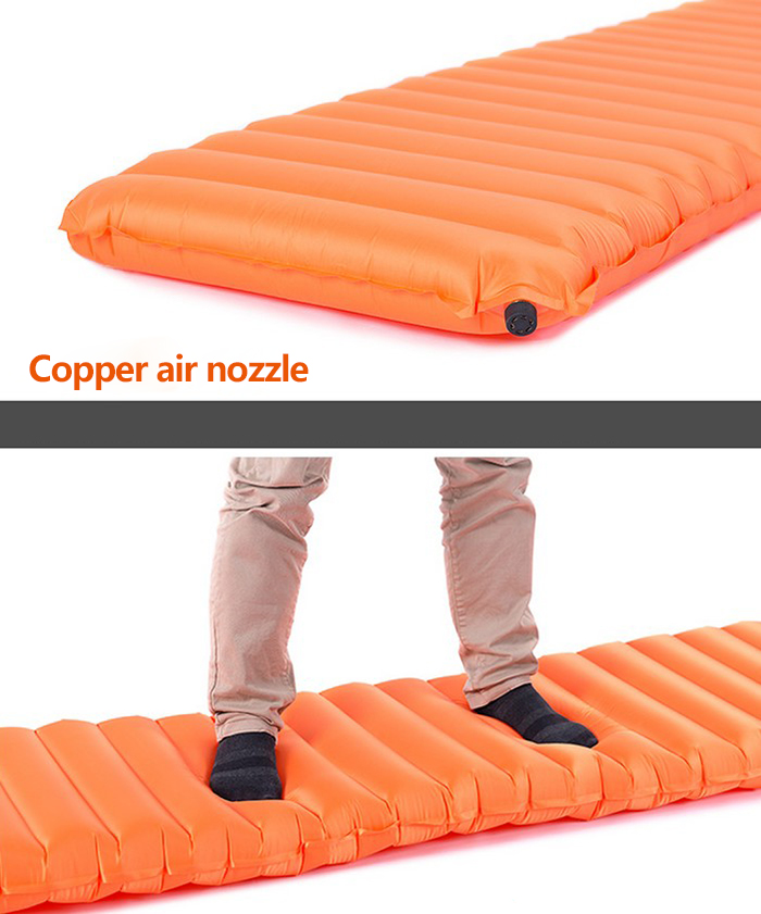 Naturehike - NH Hand Press Inflatable Mattress for Outdoor Camping Hiking