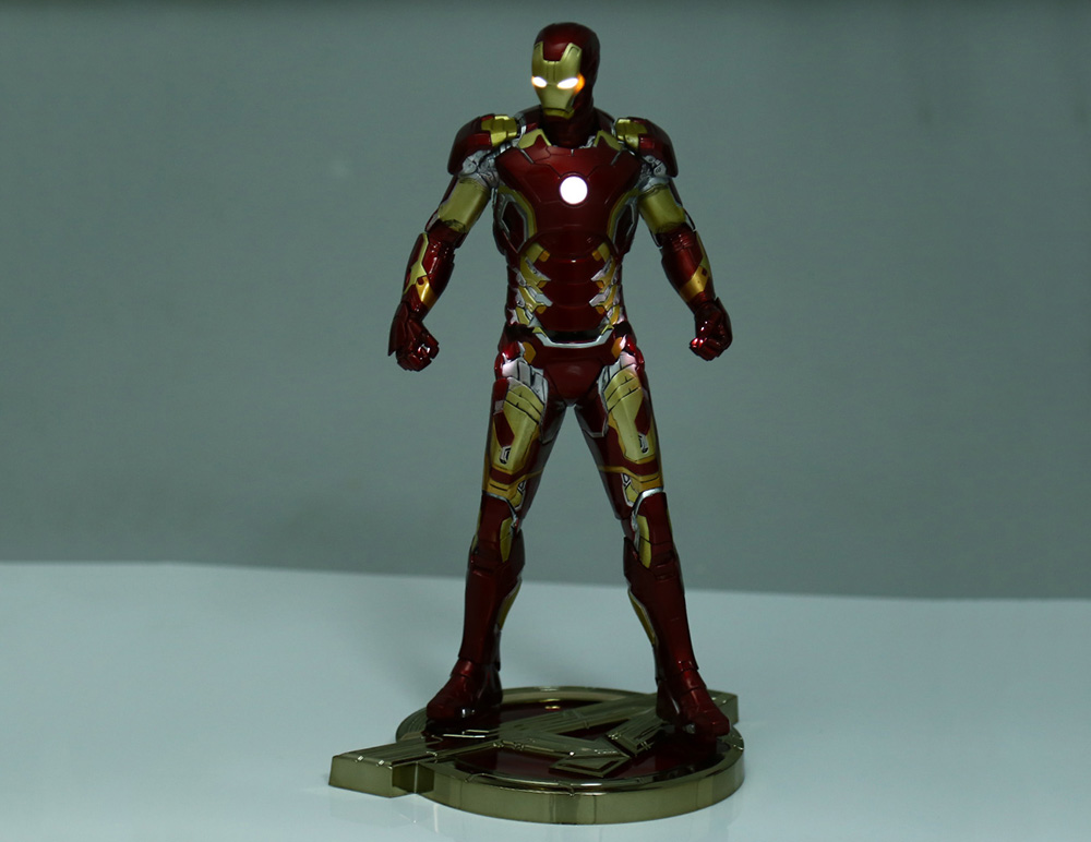 PVC + ABS Action Figure with Light Animation Collectible Figurine - 12.5 inch