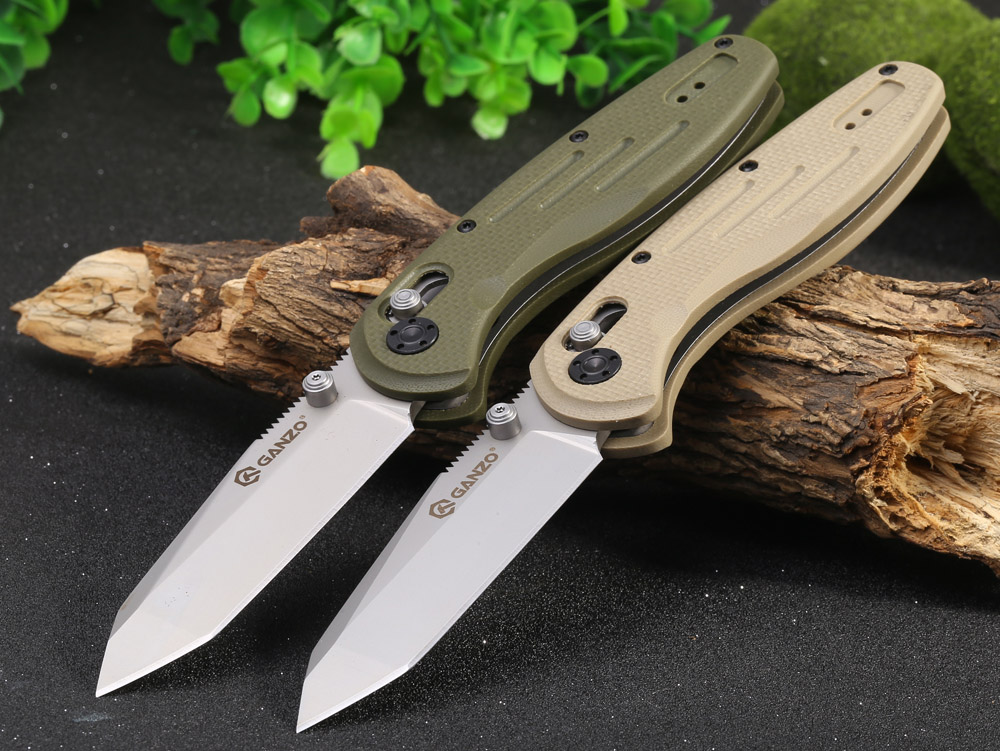 Ganzo G701 - Y Foldable Knife with Clip and Axis Locking Function