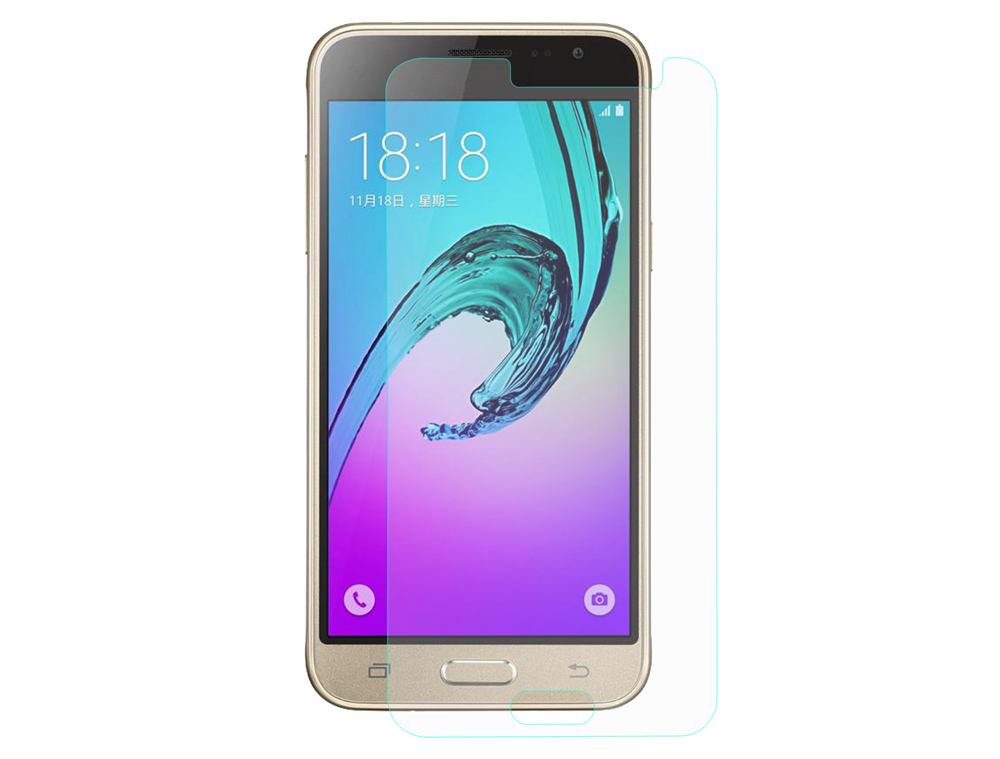 ENKAY Hat - Prince Tempered Glass Protective Film for Samsung Galaxy J3109 2.5D 9H 0.26mm Ultra Thin HD Screen Protector