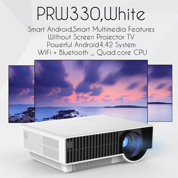 PRW330 LCD Proyector Android 4.4