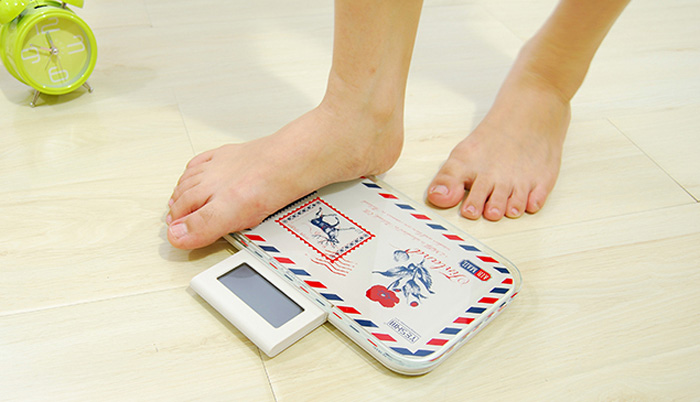 YESHM YHB1314 Envelope Shape Body Fat Scales Portable Digital Weighing Tool Auto Off Function