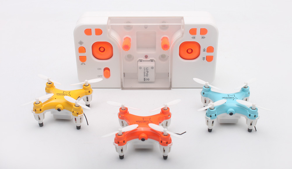 LiShi Toys L6058W 2.4GHz Transmitter CAM WiFi FPV 4 Channel 6-axis-gyro Mini RC Quadcopter