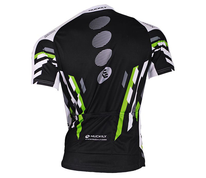 NUCKILY MA004 MB004 Men Polyester UV Resistant Bicycle Cycling Suit