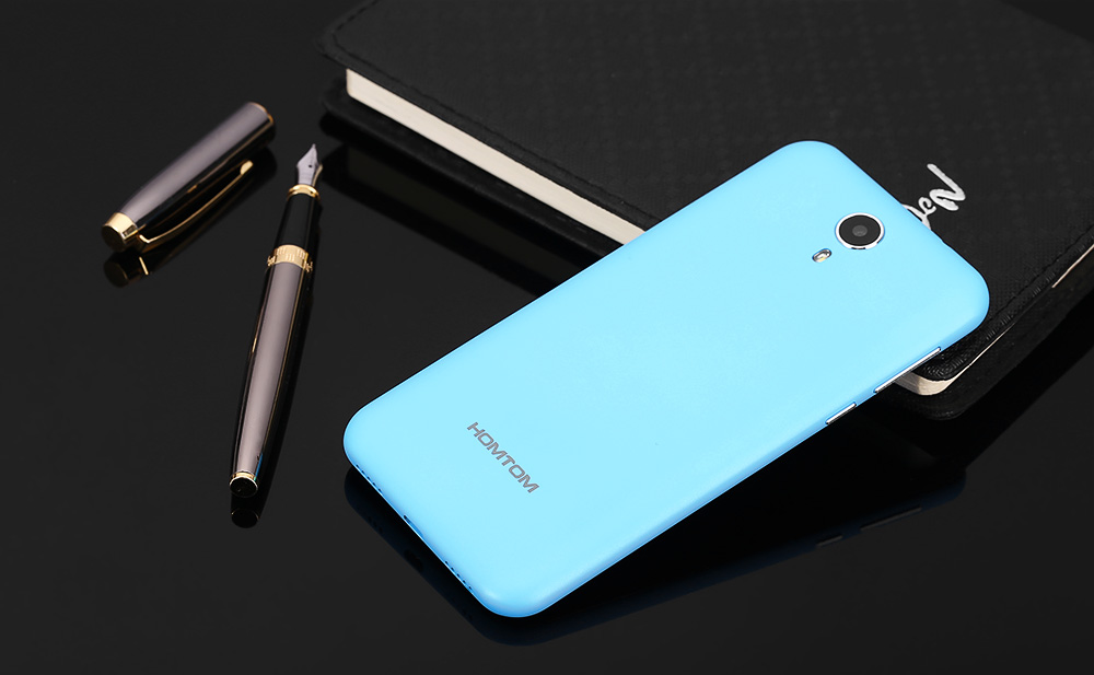 HOMTOM HT3 5.0 inch Android 5.1 3G Smartphone MTK6580 Quad Core 1.3GHz 2.5D HD Screen 1GB RAM 8GB ROM Dual Cameras GPS Smart Gesture
