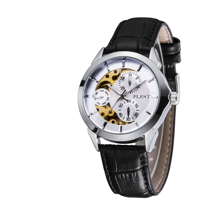 FLENT b084 Multifunctional Working Sub-dials Male Automatic Mechanical Watch