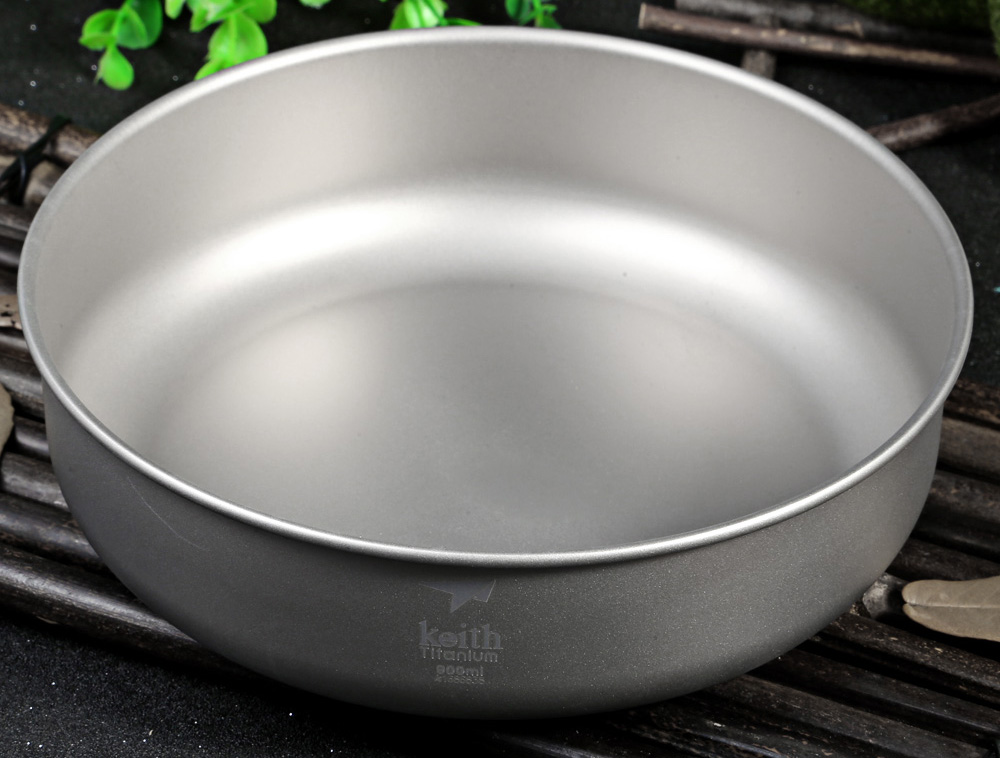 Keith KT338 900mL Titanium Bowl