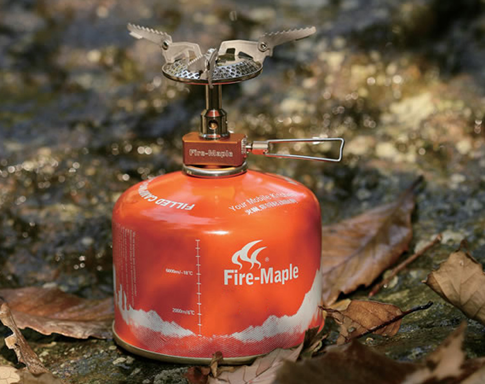 Fire - Maple FMS - 116 Stainless Steel Gas Stove